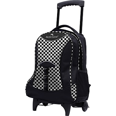 Traveler's Choice® Pacific Gear® PG0099 19in. Lightweight Wheeled Backpack, Checker
