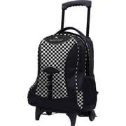 Traveler's Choice® Pacific Gear® PG0099 19 Lightweight Wheeled Backpack, Checker