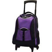Traveler's Choice® Pacific Gear® PG0099 19 Lightweight Wheeled Backpack, Purple