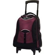 Traveler's Choice® Pacific Gear® PG0099 19 Lightweight Wheeled Backpack, Burgundy