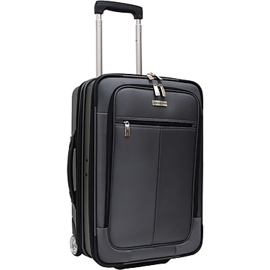 Traveler's Choice® TC0424 Sienna 21in. Hybrid Hard-Shell Rolling Upright Suitcase/Bag, Charcoal