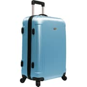 "Traveler's Choice® TC2400 FREEDOM 25"" Hard-Shell Wheeled Upright Luggage Suitcase, Blue"