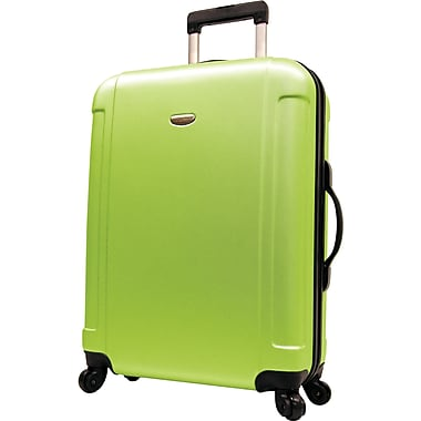 Traveler's Choice® TC2400 FREEDOM 29in. Hard-Shell Wheeled Upright Luggage Suitcase, Apple Green