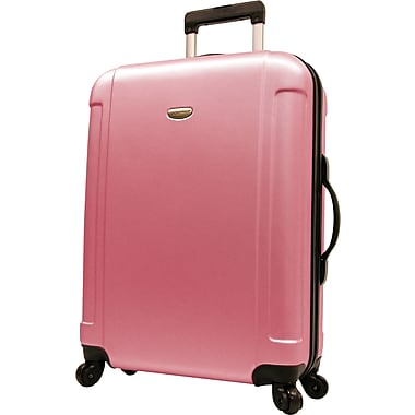 Traveler's Choice® TC2400 FREEDOM 29in. Hard-Shell Wheeled Upright Luggage Suitcase, Pink
