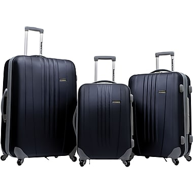 Traveler's Choice® TC3300 Toronto 3-Piece Hardside Spinner Luggage Set, Black