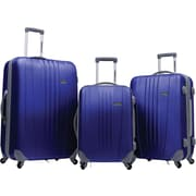 Traveler's Choice® TC3300 Toronto 3-Piece Hardside Spinner Luggage Set, Navy