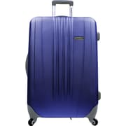 "Traveler's Choice® TC3300 Toronto 21"" Hardside Spinner Luggage Suitcase, Navy"