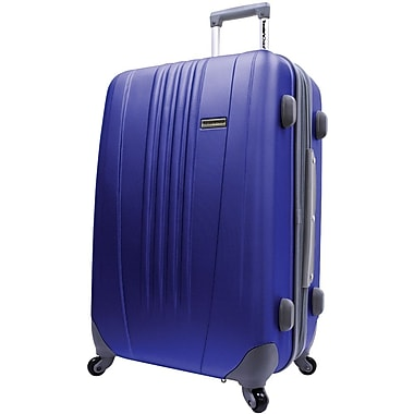 Traveler's Choice® TC3300 Toronto 25in. Hardside Spinner Luggage Suitcase, Navy