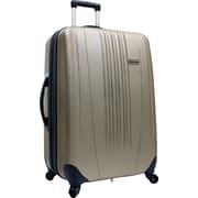 """Traveler's Choice® TC3300 Toronto 21"""" Hardside Spinner Luggage Suitcase, Gold"""