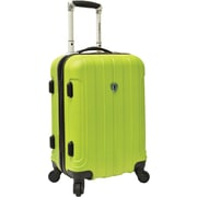 "Traveler's Choice® TC3800 Cambridge 20"" Hardsided Carry-On Spinner Luggage Suitcase, Apple Green"
