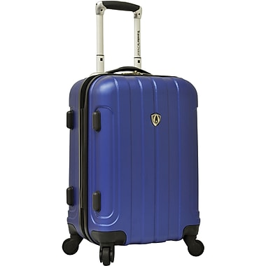 Traveler's Choice® TC3800 Cambridge 20in. Hardsided Carry-On Spinner Luggage Suitcase, Blue