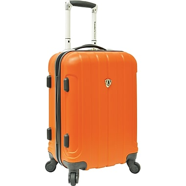 Traveler's Choice® TC3800 Cambridge 20in. Hardsided Carry-On Spinner Luggage Suitcase, Orange