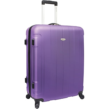 Traveler's Choice® TC3900 Rome 29in. Hard-Shell Spinner Upright Luggage Suitcase, Purple