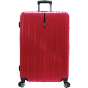 Traveler's Choice® TC5000 Tasmania 29 Expandable Spinner Luggage Suitcase, Cherry Red