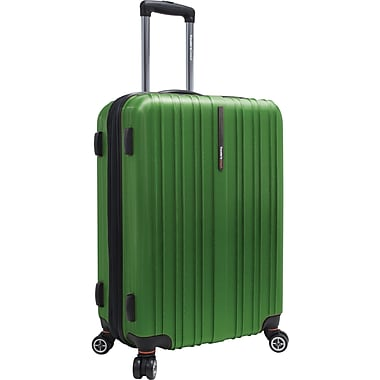 Traveler's Choice® TC5000 Tasmania 25in. Expandable Spinner Luggage Suitcase, Green