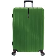 Traveler's Choice® TC5000 Tasmania 29 Expandable Spinner Luggage Suitcase, Green