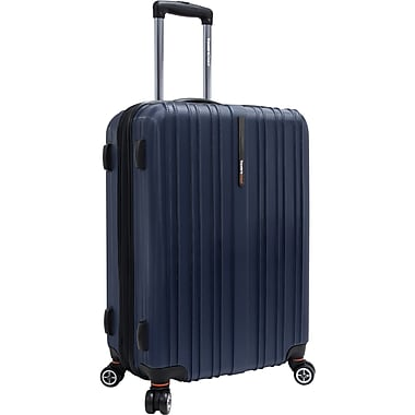 Traveler's Choice® TC5000 Tasmania 25in. Expandable Spinner Luggage Suitcase, Navy