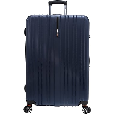 Traveler's Choice® TC5000 Tasmania 29in. Expandable Spinner Luggage Suitcase, Navy