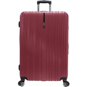 Traveler's Choice® TC5000 Tasmania 29 Expandable Spinner Luggage Suitcase, Red