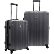 Traveler's Choice® TC5801 New Luxembourg 2-Piece Expandable Hardsided Luggage Set, Titanium