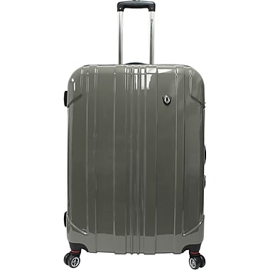 Traveler's Choice® TC8000 Sedona 29in. Expandable Spinner Luggage Suitcase, Pewter