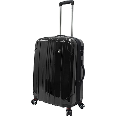 Traveler's Choice® TC8000 Sedona 25in. Expandable Spinner Luggage Suitcase, Black