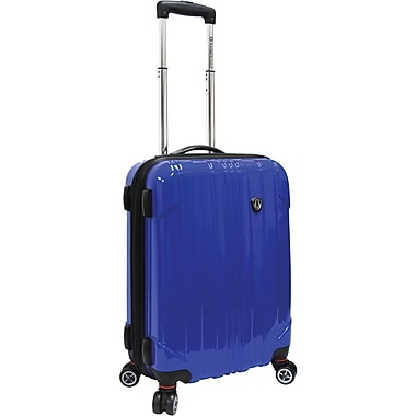 Traveler's Choice® TC8000 Sedona 21in. Expandable Spinner Luggage Suitcase, Blue
