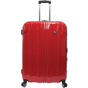 "Traveler's Choice® TC8000 Sedona 29"" Expandable Spinner Luggage Suitcase, Red"