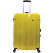 "Traveler's Choice® TC8000 Sedona 29"" Expandable Spinner Luggage Suitcase, Yellow"