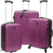 Traveler's Choice® TC8500 Cape Verde 3-Piece Hardsided Ultra Lightweight Luggage Set, Lavender