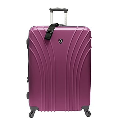Traveler's Choice® TC8500 Cape Verde Hardsided Lightweight Spinner Luggage Suitcase, Lavender