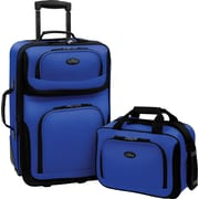 U.S.® Traveler US5600 Rio 2-Piece Expandable Carry-On Luggage Sets