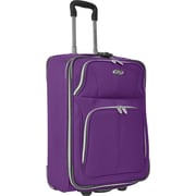 "U.S.® Traveler US7200 Segovia 22"" Expandable Luggage Suitcase, Lavender"
