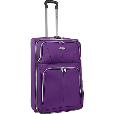 U.S.® Traveler US7200 Segovia 26in. Expandable Luggage Suitcase, Lavender