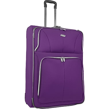 U.S.® Traveler US7200 Segovia 29in. Expandable Luggage Suitcase, Lavender