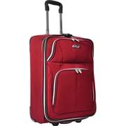 """U.S.® Traveler US7200 Segovia 22"""" Expandable Luggage Suitcase, Red"""
