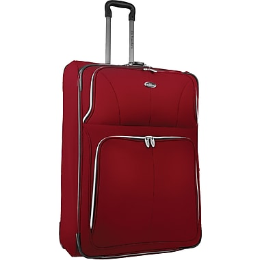 U.S.® Traveler US7200 Segovia 29in. Expandable Luggage Suitcase, Red