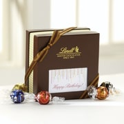 Lindt LINDOR Expressions Gift Box, Happy Birthday, 30 Truffles/Box