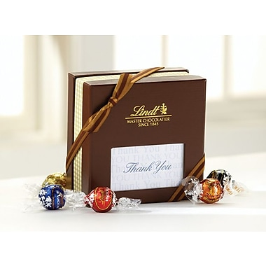 Lindt LINDOR Expressions Gift Box, Thank You, 30 Truffles/Box