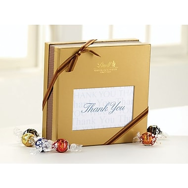 Lindt LINDOR Expressions Gift Box, Thank You, 75 Truffles/Box