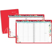 2014 AT-A-GLANCE® Playful Paisley Professional Weekly/Monthly Appointment Book, 8 1/2 x 11