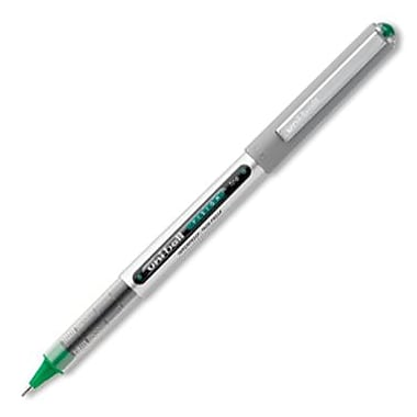 Uni-Ball Vision Rollerball Pen, Fine, Evergreen Ink