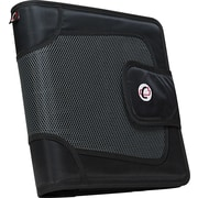 "Case-it ""The Open Tab"" 2-Inch Round Ring Binder, Black (S-816-Black)"