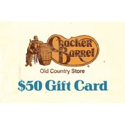 Cracker Barrel Gift Card, $50