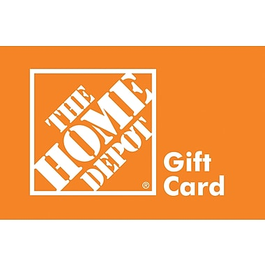 The Home Depot Gift Card, $500