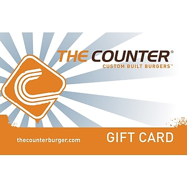 The Counter Gift Card, $50