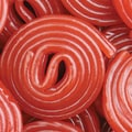 Strawberry Licorice Wheels, 5 lb. Bulk
