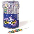 Mini Rainbow Unicorn Lollipops, 0.42 oz., 48 Lollipops/Jar