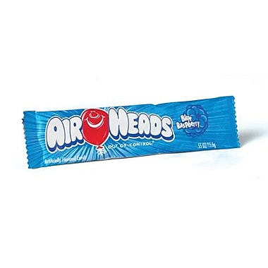 Airheads Blue Raspberry Bar, 0.55 oz. Bar, 36 Bars/Box