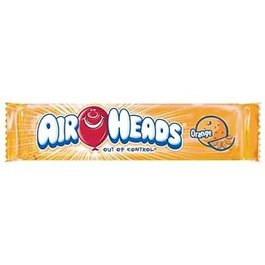 Airheads Orange Bar, 0.55 oz. Bar, 36 Bars/Box